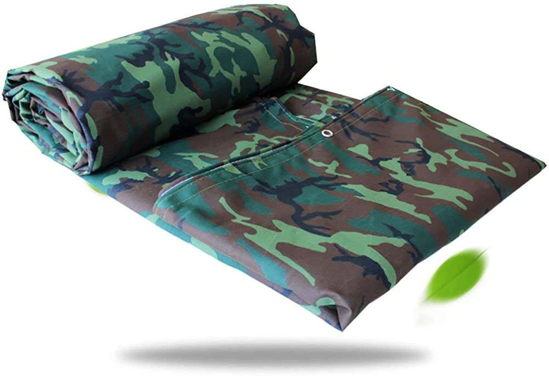 QINCH Zelt im Freien Camouflage-Plane, Camouflage-Plane, Camouflage-Plane, Wasserdichte Poncho-Campingmatte Zeltstoff Outdoor-Fracht Sonnencreme Isolation Verschleiß Leinwand (Farbe   A, Größe   5  5m) B07PHSH3Q1  Überlegene Qualität 6f4918