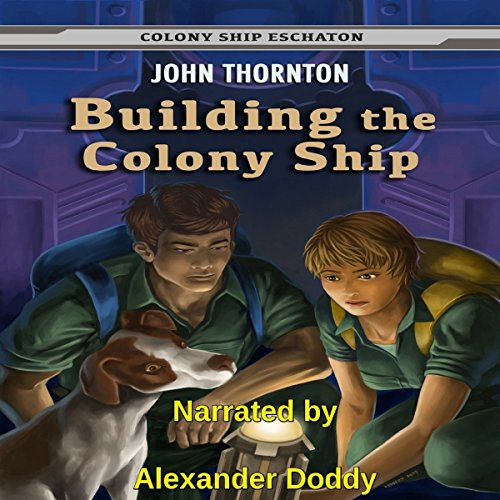 Building the Colony Ship audiobook cover art