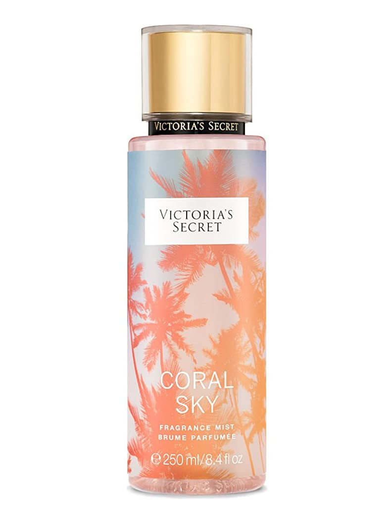 処分した生き返らせる市の中心部【並行輸入品】Victoria's Secret Coral Sky Fragrance Mist ヴィクトリアズシークレットコーラルスカイミスト250 ml