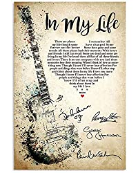 gifts for the ultimate Beatles fan ~ wall art