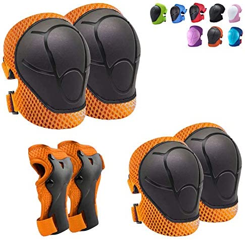 Knee Pads for Kids Kneepads and Elbow Pads Toddler Protective Gear Set Kids Elbow Pads and Knee product image