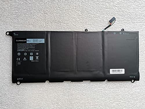 K KYUER 7.6V 60Wh PW23Y Laptop Batería para Dell XPS 13 9360...