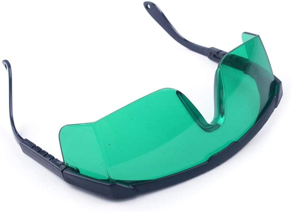DGdolph Laser Safety Glasses Eye Protection for IPL//E-light Hair Removal Goggles dark green