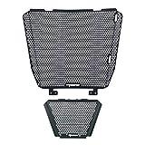 BHQMV Radiador Rejilla Guardia Cubierta de Aceite Cooler Guard Cover/Fit para Aprilia Tuono V4 1000 2011-2014 Tuono V4 1100 RR/FIT FOR Factory 2015-2020 (Color : Tuono Logo)
