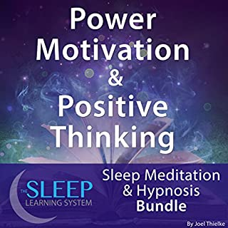 Power Motivation & Positive Thinking: Sleep Meditation & Hypnosis Bundle cover art