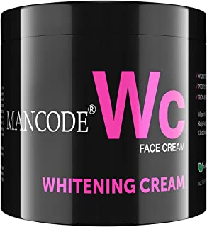 MANCODE Whitening Cream,For Hydratring,Radiant Glow, Protecting, Glow Boosting your Skin with Vitamin C, Kojic Acid and Gl...