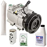 AC Compressor & A/C Kit For Hyundai Santa Fe 2.7L V6 2001 2002 2003 2004 2005 2006 - BuyAutoParts 60-80292RK New