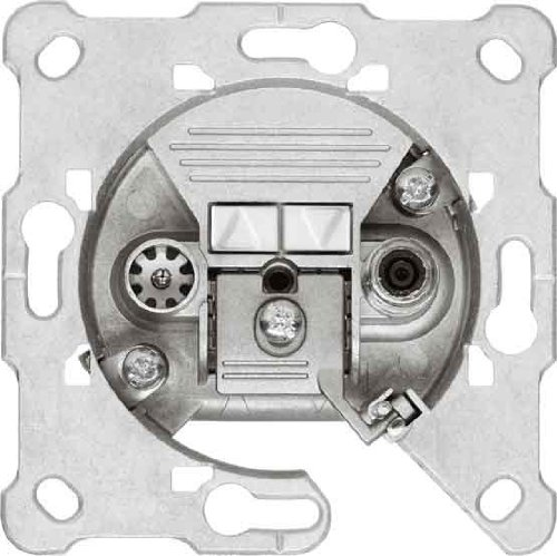 Hirschmann GDS 11 F 2-Fach Durchgangsdose SAT/BK (11 dB)