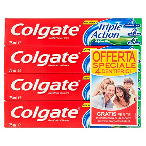 Colgate Triple Action Original, Dentifricio 100 ml