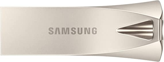 Samsung Memorie MUF-128BE3 Bar Plus USB Flash Drive, USB 3.1, Type-A Fino a 300 MB/s, 128 GB, Argento