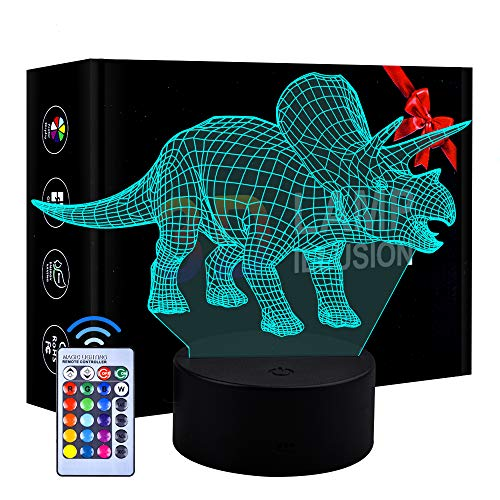 Eala Birthday Present for Girls Boys, Dimmable 3D LED Lamp Nightlight for...