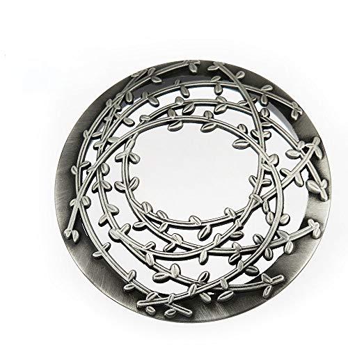 JinSu Jar Kerze Deckel, Metallabdeckung, Kerzen Zubehör für Jar Candles, Yankee Candle und mehr ( 72-82 mm )