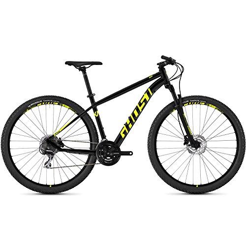 Ghost Kato 3.9 AL U 29R Mountain Bike 2018 schwarz (S/42cm, Night Black)