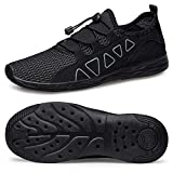 vibdiv Men's Water Shoes - Quick Drying Outdoor Lightweight Sports Aqua Shoes