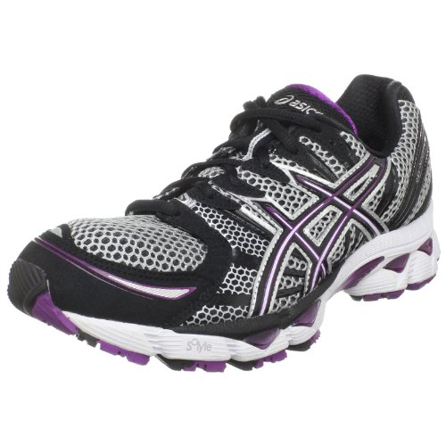 ASICS Women's GEL-Nimbus 12 Running Shoe,Lightning/Black/Plum,11.5 M...