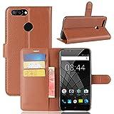 Litao-Case CN Case for OUKITEL U22 Case Flip leather + TPU