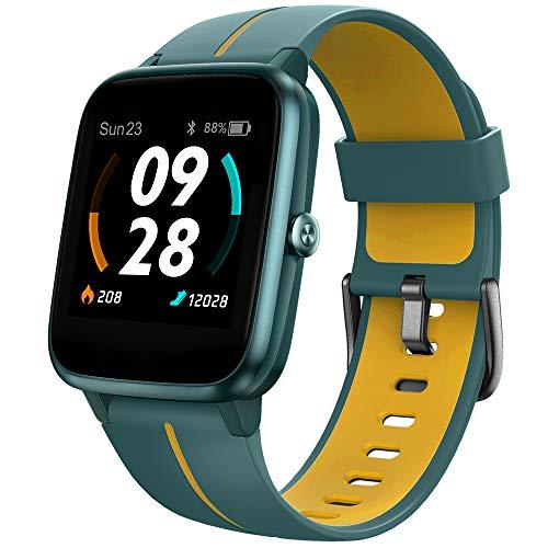 UMIDIGI Reloj Inteligente con GPS,Smartwatch Hombre Mujer Niños con Monitor de Frecuencia Cardíaca, Esfera Personalizada, 1.3' Pantalla Táctil Impermeable Reloj Deportivo para Android iOS
