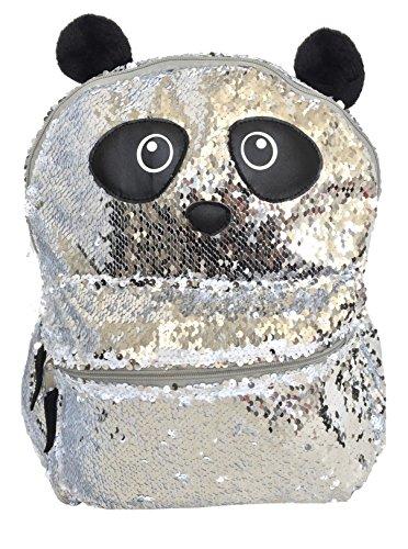 Sequin Backpack (Panda)