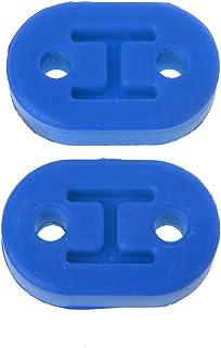 FXCO Auspuffhalter 2 x Gummihalterung für 2 Löcher Halterung