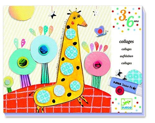 Djeco - Djeco-Collage Pour Les Petits Très Pop