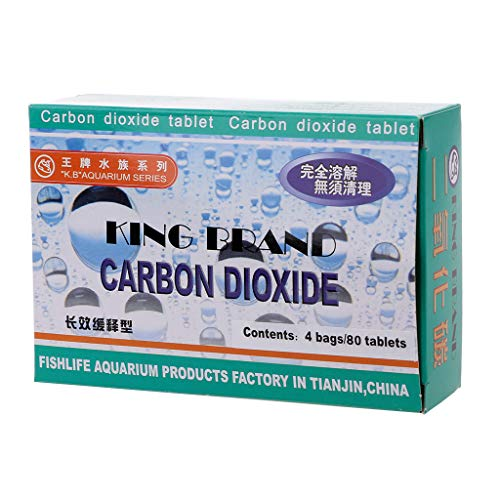Xuniu Aquarium CO2 Tablet anidride carbonica per Piante Acquario Diffusore Acquatico