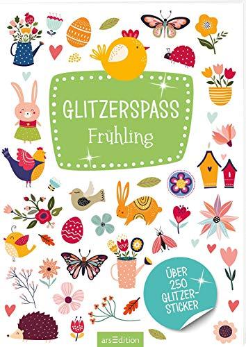 Metallic- und Glitzerspaß: Glitzerspaß Frühling: Über 250 Glitzersticker