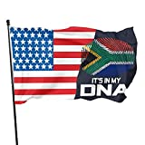 Breeze Flag 3 X 5 South African It 'S in My Dna 100% Poliestere Bandiere traslucide monostrato 90 X 150 cm - Banner 3' X 5 '