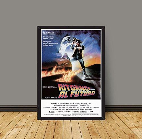 Movie Poster Ritorno al Futuro - Size:35x50 CM