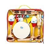 EKIDS KIT10 Percussion niño amarillo