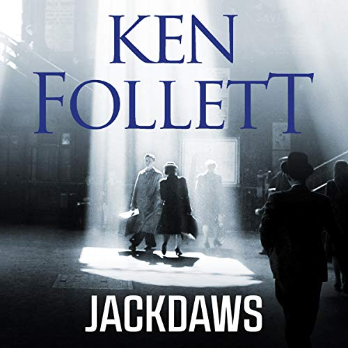 Jackdaws audiobook cover art
