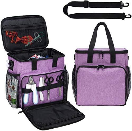 KISLANE Pet Grooming Tote Bag, Cat Grooming Tools...
