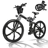 BiciclettaElettrica,26pollicibicielettrica,mobilebatteriaallitio36V/8Ah/12.5AhMountainBike,Sistemadicambioa21velocità