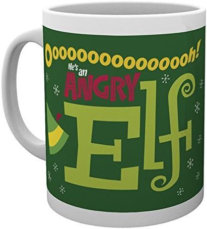 GB eye LTD Angry Elf Mug Wood x SALENEW very popular lowest price 9 Various 15 10 cm