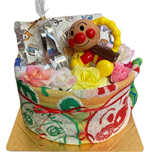 おむつケーキ アンパンマン 出産祝い 男の子 女の子 キャラクター あんぱんまん パンパース