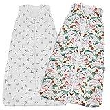 Lictin Cotton Muslin Wearable Blanket Sack 0.5 Tog - Baby...