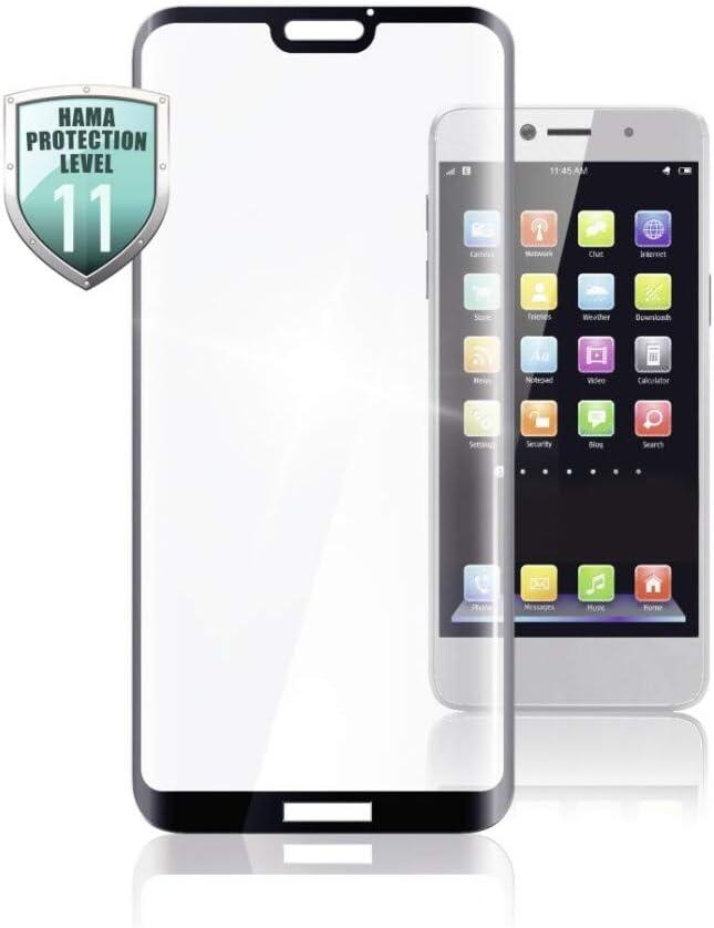 Hama Schutzglas Full Screen 3d Für Huawei P30 Pro New Edition Schwarz Transparent Elektronik