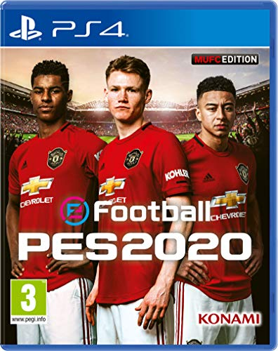 Efootball PES 2020 Manchester United Edition - Playstation 4 [Importación Inglesa]