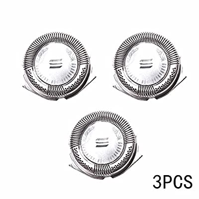 PetHot 3pcs Replacement Shaver Head Blade Cutters for Philips Norelco Electric Razor HQ8 by JY