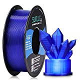 🎄【SUNLU PLA Transparent Filament】 Awesome light transmission, came out beautiful no matter thick shell or thin shell, if you want some beautiful transparent pla 1.75mm filament choose this, you will like it. 🎅【Smooth & Shiny Printing】 Optimal printin...