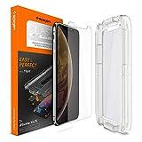 iPhone 11 Pro/XS/X Screen Protector, Genuine SPIGEN Glas.tR EZ Fit Tempered Glass