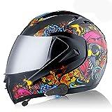 Casco de motocicleta Bluetooth, casco de motocicleta integra