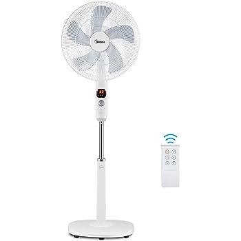 Midea FS40-16CR - Ventilador de pie: Amazon.es: Bricolaje y ...