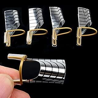 Acrylic Nails - Gel For Nails - 10Pcs Nail Extension Environmental Reusable UV Gel Tool Nail Art Extension Acrylic Forms Nails Extension Polish Curl Form