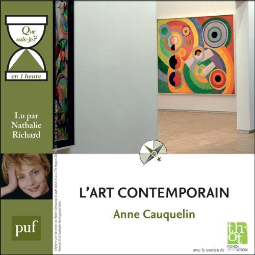 Couverture de L'art contemporain en 1 heure