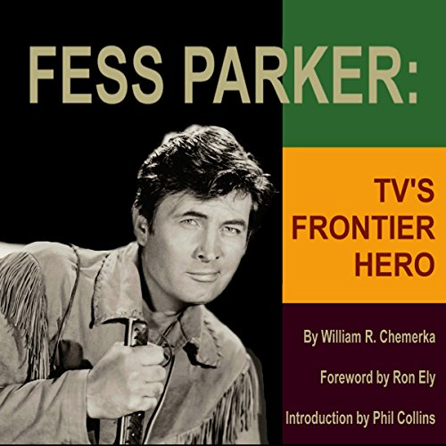 Fess Parker audiobook cover art