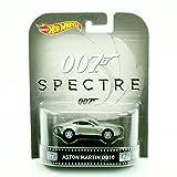 Retro Series Aston Martin DB10 from The 2015 James Bond Film Spectre Hot Wheels 2015 1:64 Scale Die Cast Vehicle