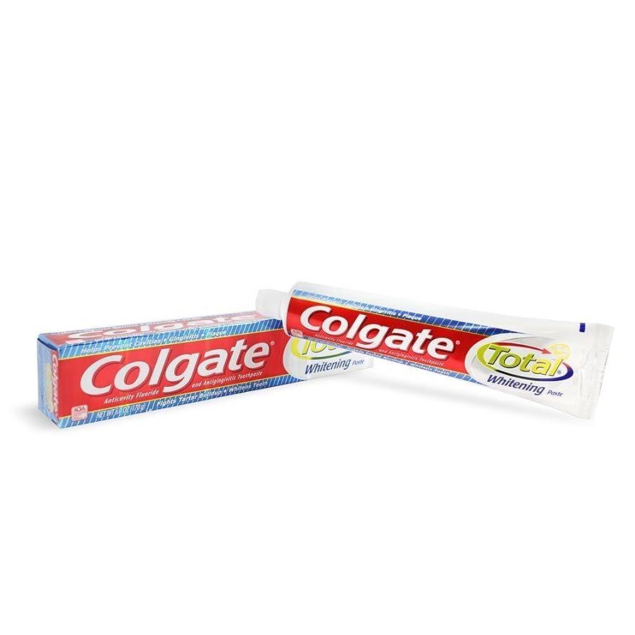 ディスコ予備このColgate トータルホワイトニング歯磨き6オズ(12パック)