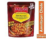 FAZLANI ALIMENTOS Listo para comer Amritsari Chole-garbanzos al curry, -Pack de 1, 250gm