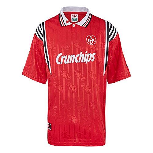 Score Draw Herren Retro - Trikot 1. FC Kaiserslautern | Heimtrikot 1998 in Rot, Größe: XXL