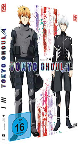 Tokyo Ghoul: Root A - Staffel 2 - Vol.4 - [DVD]